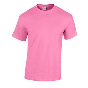 Gildan Blank Adult Unisex T Shirt Azalea Color